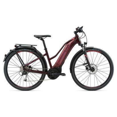 LIV Amiti-E+1 S5 Damen Cross E-Bike 2018 | Dark Red
