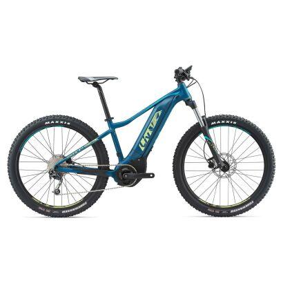 Liv Vall E3 S5 Damen E Bike Hardtail 275 2018 Dark Green