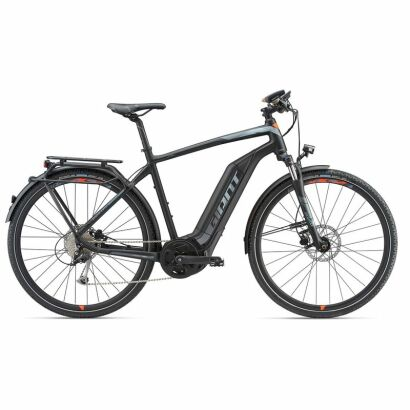 Giant Explore E+ 2 S5 Herren Trekking E-Bike 2018 | Black/Red