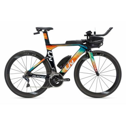 LIV Avow Advanced Pro 1 Damen Tri TT Bike 2018 | Dark Green