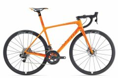 Giant TCR Advanced SL Disc Rennrad 2018 | Orange