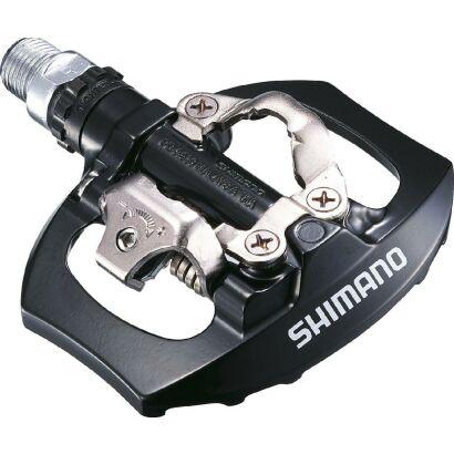 Shimano Pedal SPD o.Reflektor Schwarz (09) Mit Schuhplatten SM-SH51