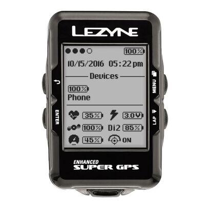 Lezyne Computer Super GPS Option 1