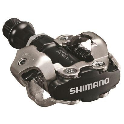 Shimano PDM540 SPD Pedale o.Reflektor(03) Mit Schuhplatten Schwarz