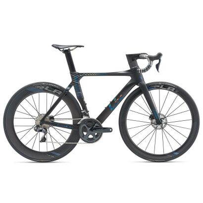 Liv EnviLiv Advanced Pro 0 Disc Damen-Aero-Rennrad 2019 | Black-Iris Matt-Gloss