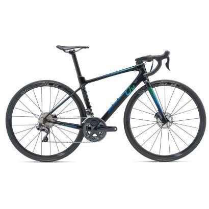 Liv Langma Advanced Pro 0 Disc Damen-Rennrad 2019   Black-Green-Blue