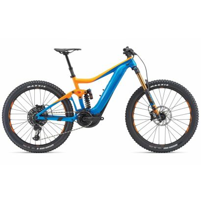 giant trance sx e 0 pro e bike fully 2019 blue orange. Black Bedroom Furniture Sets. Home Design Ideas