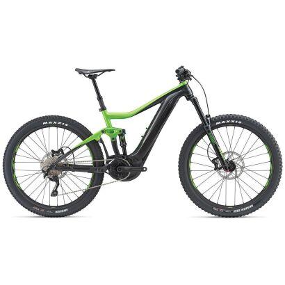 Giant Trance E+ 3 Pro E-Bike Fully 2019 | Gunmetalblack-Flashgreen