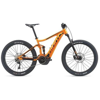 Giant Stance E+ 1 E-Bike Fully 2019 | Metallicorange-Black