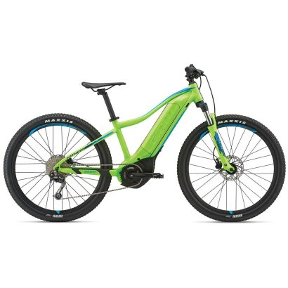 Giant Fathom E+ jr. E-Bike Hardtail 2019 | Neongreen-Blue Matt