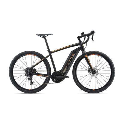 Giant ToughRoad E+ GX E-Bike Gravelbike 2019 | Black-Neonorange-Grey Matt-Gloss