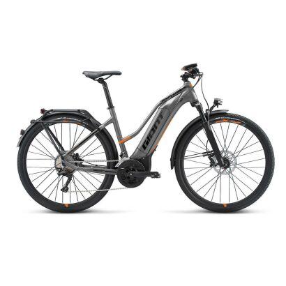 Giant Explore E+ 0 STA E-Bike Damen Trekkingrad 2019 | Grey-Orange-Black Matt