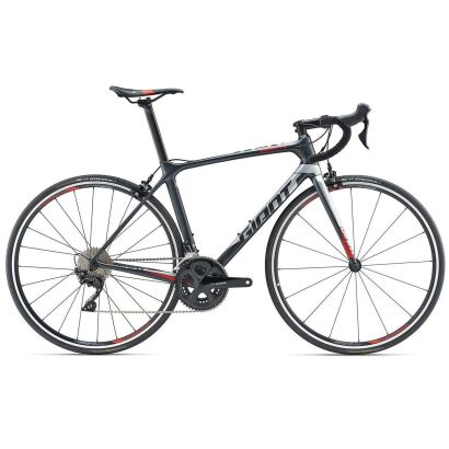 Giant TCR Advanced 2 Rennrad 2019 | Metallicblack-Silver Matt