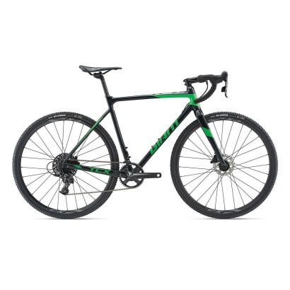 Giant TCX SLR Cyclocrosser 2019 | Metallicblack-Flashgreen
