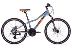 Giant XtC jr. Disc 24 Kinderrad 2019 | Grey-Neonred-Black