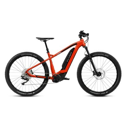 Flyer Uproc2 2.10 Hardtail E-Bike 2019 | Ibis Red / Cast Silver