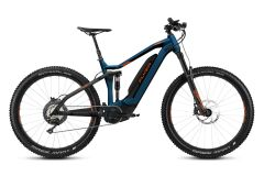 Flyer Uproc7 4.10 Fully E-Bike 2019 | Space Blue / Magma Red
