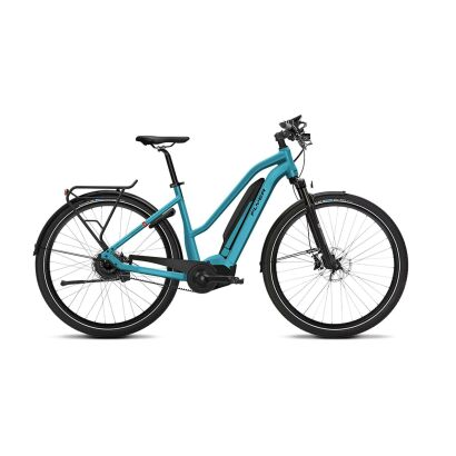 Flyer Upstreet5 7.10 Trapez E-Bike 2019 | Glacier Blue