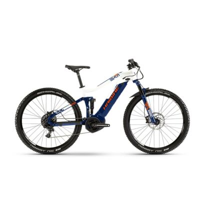 Haibike SDURO FullNine 5.0 E-Fully 2019 | Blau/Weiß/Orange