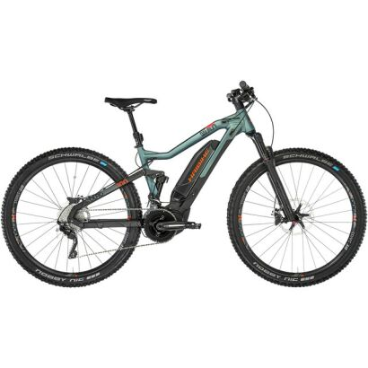 Haibike SDURO FullNine 8.0 E-Fully 2019 | Olive/Carbon/Orange matt