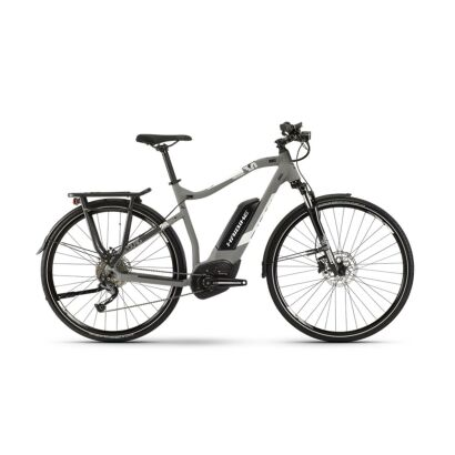 Haibike SDURO Trekking 3.0 Herren E-Bike 2019 | Grau/Weiß/Schwarz matt