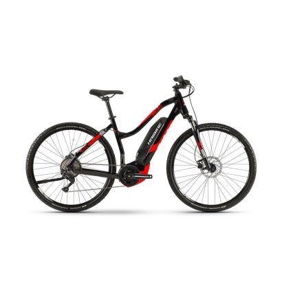 haibike sduro cross 2 0 damen e bike 2019 schwarz rot wei. Black Bedroom Furniture Sets. Home Design Ideas
