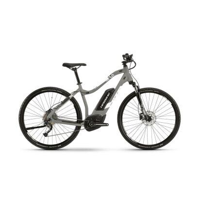 Haibike SDURO Cross 4.0 Damen E-Bike 2019 | Grau/Schwarz/Grün
