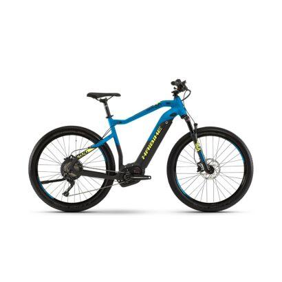 Haibike SDURO Cross 9.0 Herren E-Bike 2019 | Schwarz/Blau/Gelb matt
