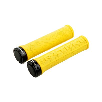 Race Face GRIP HALF NELSON W/LOCK YELLOW