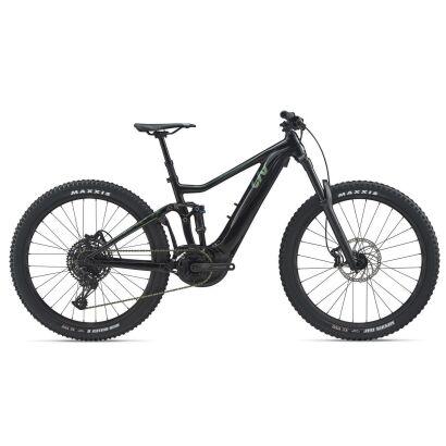 Liv Intrigue E+ 2 Pro E-Bike Fully 2020 | Solidblack / Green