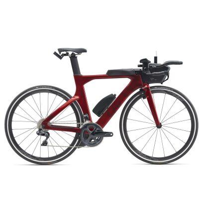 Liv Avow Advanced Pro 1 Damen-Triathlon-Rad 2020 | Metallicred