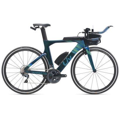Liv Avow Advanced Pro 2 Damen-Triathlon-Rad 2020   Chameleon Blue