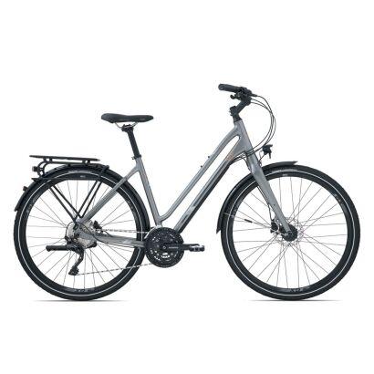 Liv Allure RS 2 Damen Trekkingrad 2020 | Titaniumgrey / Reflectiveorange Satin