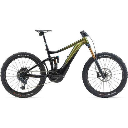 GIANT Reign E+ 0 Pro PWR6 E-Bike Fully 2021   Chameleon Saturn / Solidblack