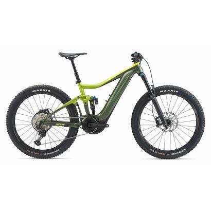 GIANT Trance E+ 1 Pro E-Bike Fully 2020 | Acidyellow / Armygreen