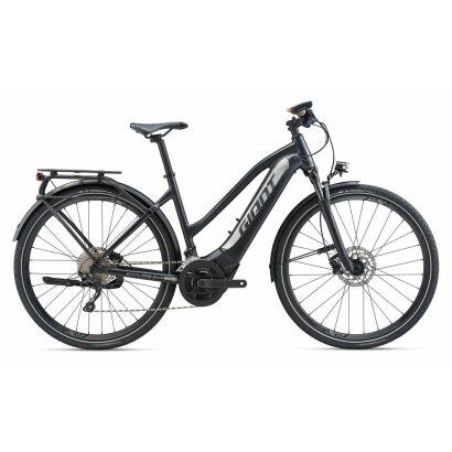 GIANT Explore E+ 1 Pro STA PWR6 E-Bike Trekking 2020 | Coreblack / Silver Satin