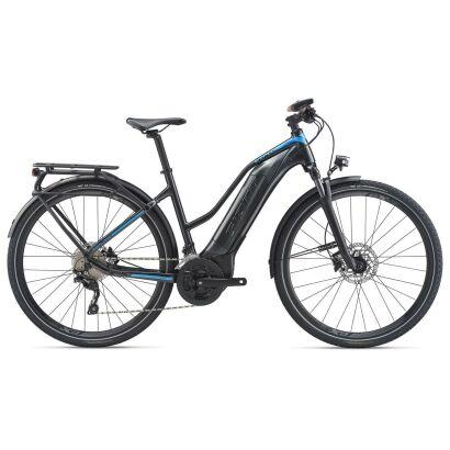 GIANT Explore E+ 1 STA E-Bike Trekking 2020 | Coreblack / Cyanblue