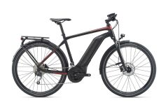 GIANT Explore E+ 2 GTS E-Bike Trekking 2020 | Black / Red...