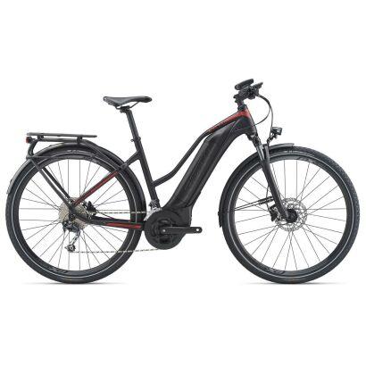 GIANT Explore E+ 2 STA E-Bike Trekking 2020   Black / Red Matt
