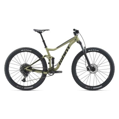 GIANT Stance 1 MTB Fully 2020   Olivegreen / Solidblack Matt