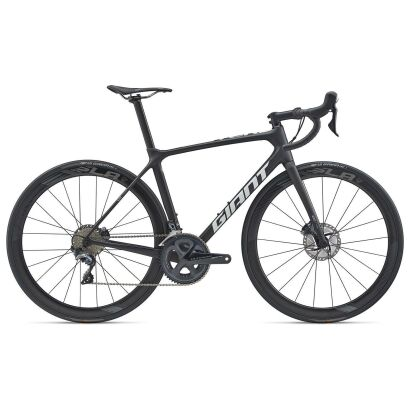 GIANT TCR Advanced Pro Team Disc Rennrad 2020 | Carbon Smoke / White Matt