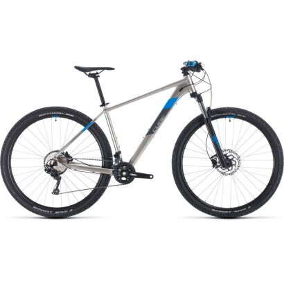 Cube Attention MTB Hardtail 2020 | titanium´n´blue