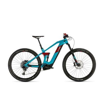 Cube Stereo Hybrid 140 HPC Race 625 29 E-Bike Fully 2020 | petrol´n´red