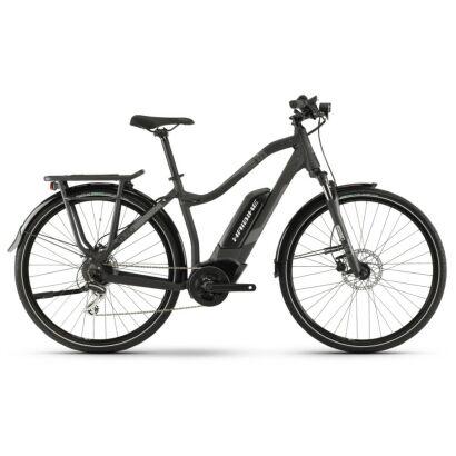 Haibike SDURO Trekking 1.0 Damen 400Wh E-Bike 8G Acera 2020 | schw/titan/grau matt