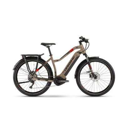 Haibike SDURO Trekking 4.0 Damen i500Wh E-Bike 10G Deo. 2020 | sand/schwarz/rot