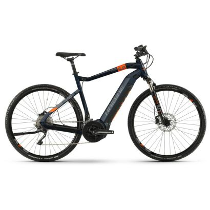 Haibike SDURO Cross 5.0 Herren i500Wh E-Bike 20-G XT 2020 | blau/orange/titan