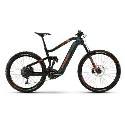Haibike XDURO AllMtn 8.0 i630Wh Flyon E-Bike 11-G XT 2021 | oliv/carbon/orange matt