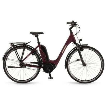 "Winora Tria N7f eco Einrohr400Wh E-Bike 26""7-G NexusFL 2020 | burgundyred matt"