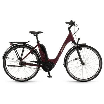 "Winora Tria N7f eco Einrohr400Wh E-Bike 28""7-G NexusFL 2020 | burgundyred matt"