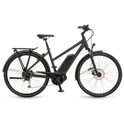 "Winora Tria 9 Damen 500Wh E-Bike 28"" 9-G Alivio 2021 | schwarz matt"